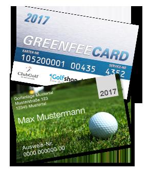 Greenfee Card