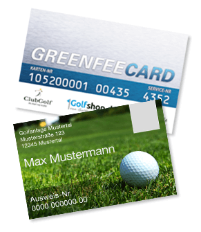 Greenfee Card